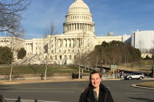 Water Center Intern Lily Michaud Attends 2019 NIWR Capitol Hill Visits