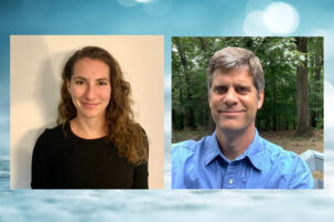 Caitlin Shipman and Joe Buckwalter are 2021 Walker Graduate Research Fellows